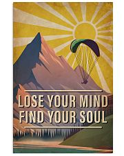 Skydiving Lose Your Mind Find Your Soul 16x24 Poster front