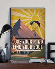 Skydiving Lose Your Mind Find Your Soul 16x24 Poster lifestyle-poster-2