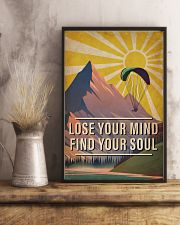 Skydiving Lose Your Mind Find Your Soul 16x24 Poster lifestyle-poster-3