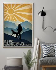 Hiking it Is Not The Mountain 16x24 Poster lifestyle-poster-1
