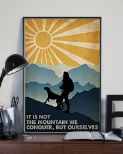 Hiking it Is Not The Mountain 16x24 Poster lifestyle-poster-2