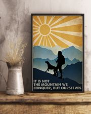 Hiking it Is Not The Mountain 16x24 Poster lifestyle-poster-3
