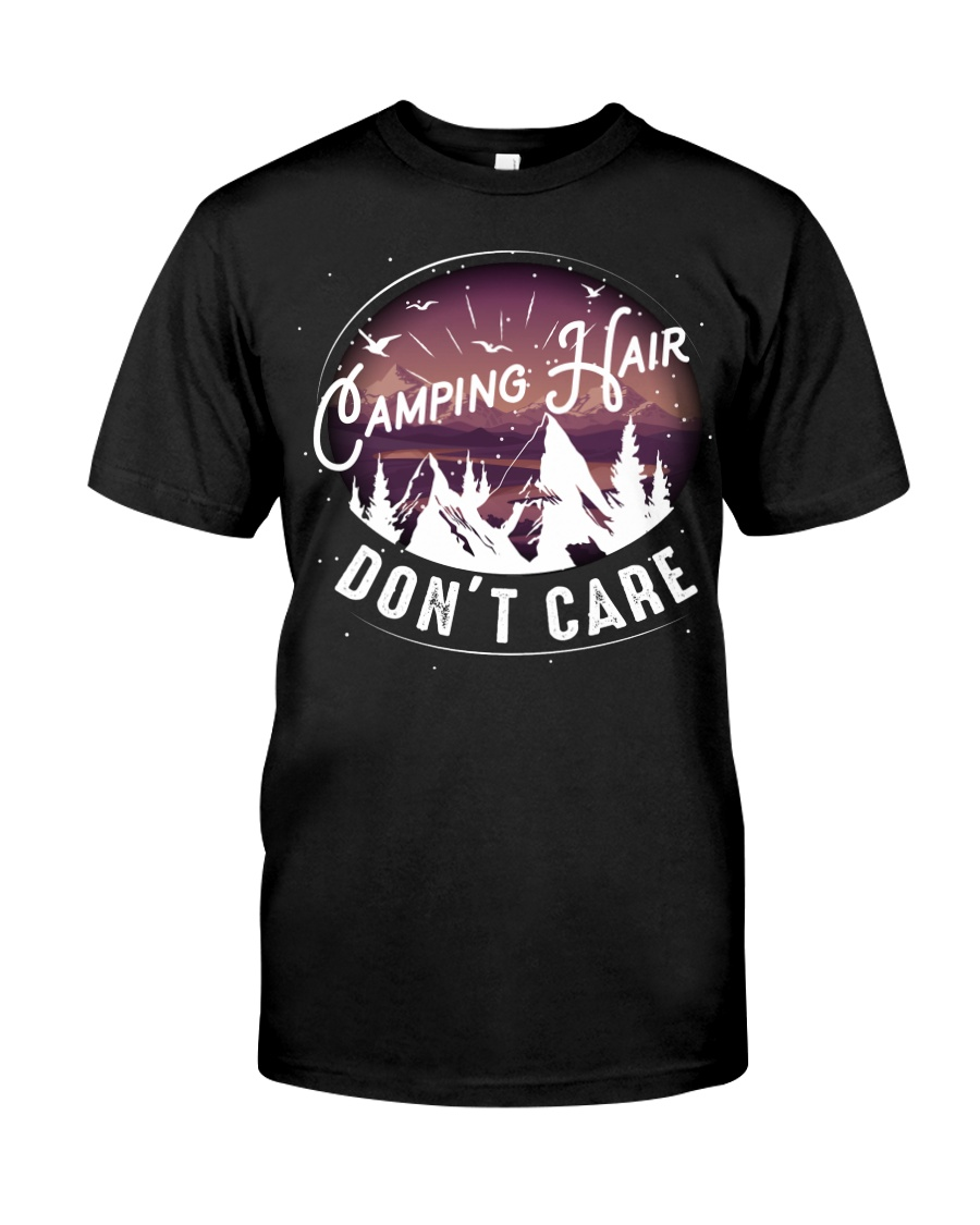 Camping hair don't care Classic T-Shirt