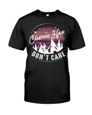 Camping hair don't care Classic T-Shirt front