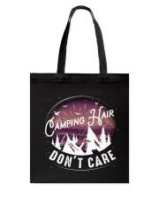 Camping hair don't care Tote Bag thumbnail