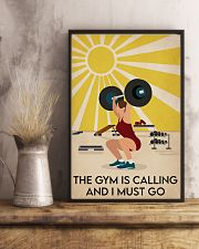 Fitness The Gym Is Calling 16x24 Poster lifestyle-poster-3