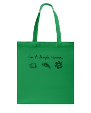 Dog I'm A Simple Woman - Hoodie And T-shirt Tote Bag thumbnail