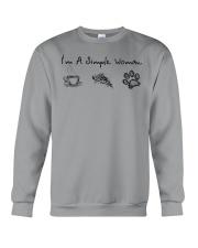 Dog I'm A Simple Woman - Hoodie And T-shirt Crewneck Sweatshirt thumbnail