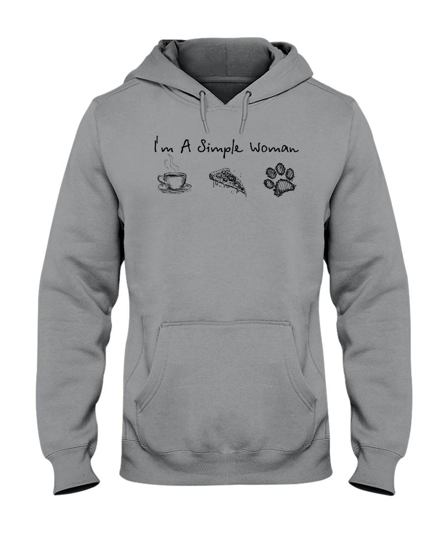 Dog I'm A Simple Woman - Hoodie And T-shirt Hooded Sweatshirt