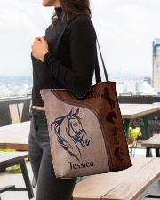 Horse Print All-over Tote aos-all-over-tote-lifestyle-front-04