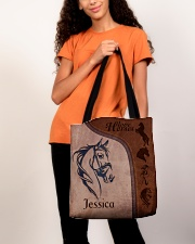Horse Print All-over Tote aos-all-over-tote-lifestyle-front-06