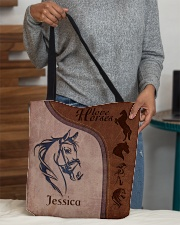 Horse Print All-over Tote aos-all-over-tote-lifestyle-front-10