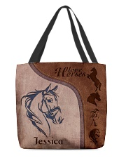 Horse Print All-over Tote front