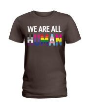 We are all Human Ladies T-Shirt thumbnail
