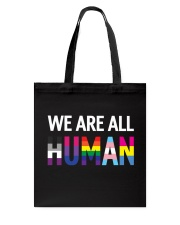 We are all Human Tote Bag thumbnail