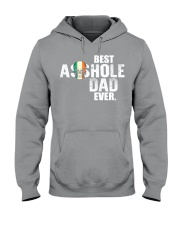 Best Asshole Dad ever Hooded Sweatshirt thumbnail