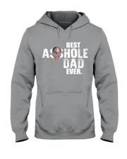 Best Asshole Dad ever Hooded Sweatshirt thumbnail
