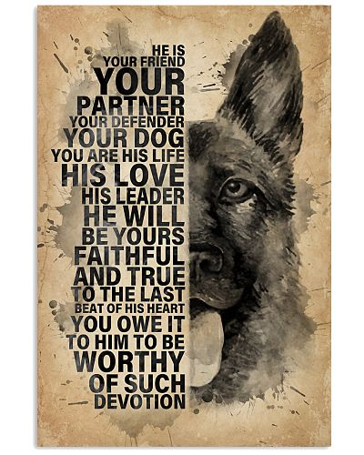 Dog K9 He Is Your Friend
