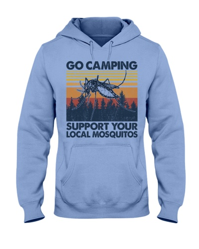 Camping Support Your Local Mosquitos