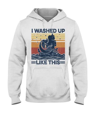 Mermaid I Washed Up Like This