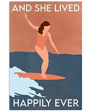 Surfing Happily Ever 16x24 Poster front