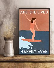 Surfing Happily Ever 16x24 Poster lifestyle-poster-3
