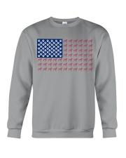 Dalmatian flag Crewneck Sweatshirt thumbnail