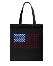 Dalmatian flag Tote Bag tile