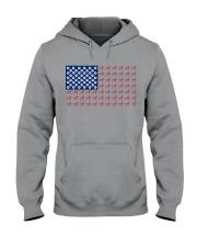 Dalmatian flag Hooded Sweatshirt thumbnail