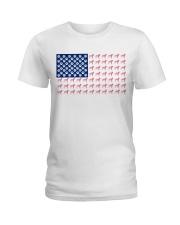 Dalmatian flag Ladies T-Shirt front