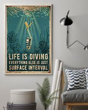 Scuba Life Is Diving 16x24 Poster lifestyle-poster-1