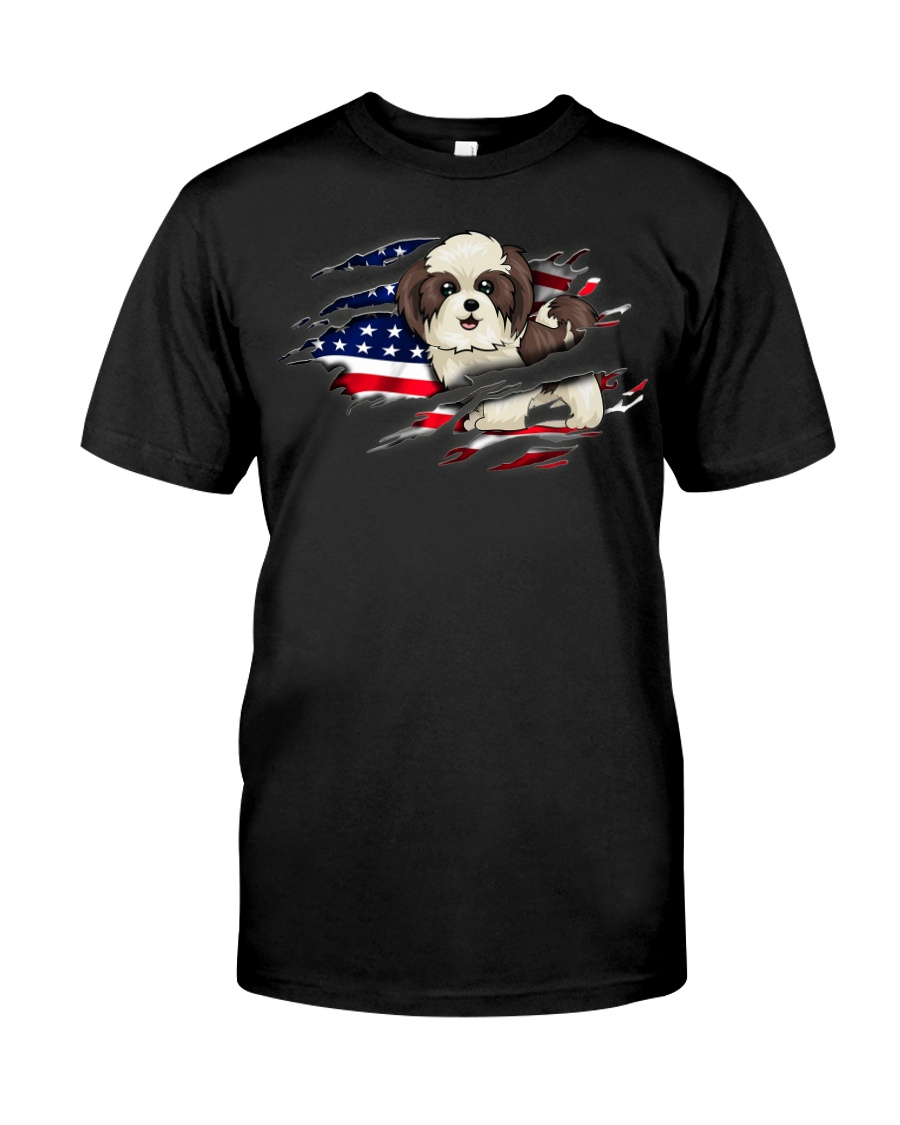 Shin Tzu Flag Classic T-Shirt