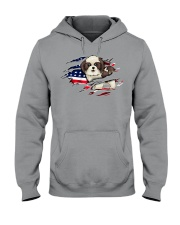 Shin Tzu Flag Hooded Sweatshirt thumbnail