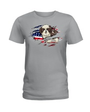 Shin Tzu Flag Ladies T-Shirt thumbnail