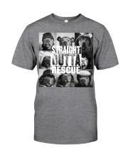 straight outta rescue Classic T-Shirt thumbnail