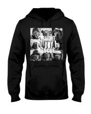straight outta rescue Hooded Sweatshirt front