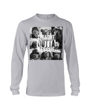 straight outta rescue Long Sleeve Tee thumbnail