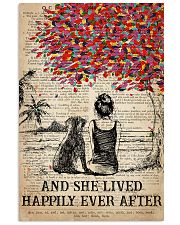 Dog Labrador Happily Ever After 2 16x24 Poster front