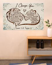Family I Choose You 36x24 Poster poster-landscape-36x24-lifestyle-22