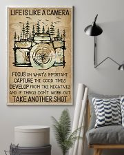 Camping Life Is Like A Camera 16x24 Poster lifestyle-poster-1