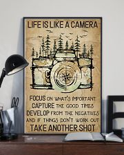 Camping Life Is Like A Camera 16x24 Poster lifestyle-poster-2