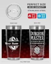 Dungeon Master 20oz Tumbler aos-20oz-tumbler-lifestyle-front-60