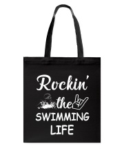 swimming life Tote Bag thumbnail