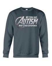 My son has Autism Crewneck Sweatshirt thumbnail
