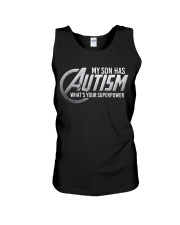 My son has Autism Unisex Tank thumbnail