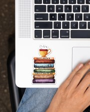 Book and Tea Sticker - Single (Vertical) aos-sticker-single-vertical-lifestyle-front-11