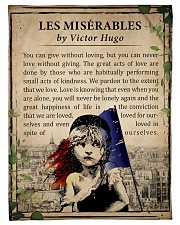 Book Les Miserables Fleece Blanket tile