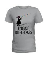 Embrace Differences Ladies T-Shirt tile