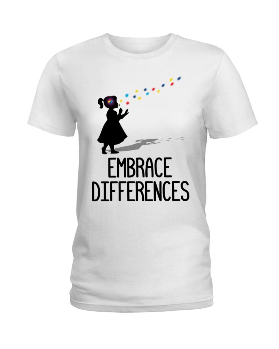 Embrace Differences Ladies T-Shirt