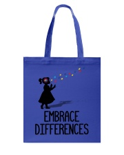 Embrace Differences Tote Bag thumbnail